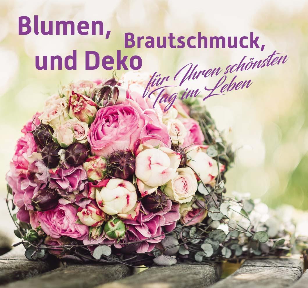 Blumen Brautschmuck Deko