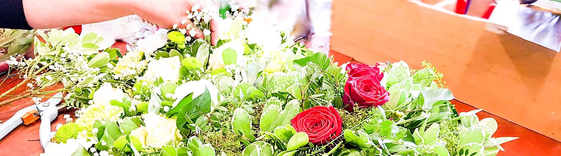 Service Blumen Bepflanzung
